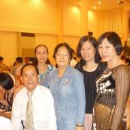 Đám cưới cháu Thế Vân, con gái Bình